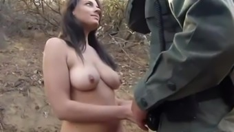 Quit outdoor Kayla West was in fact wedged virile