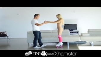 Tiny4k Brown attractiveness Alex Ash great cock fuck and face