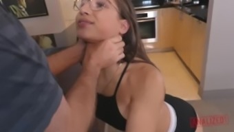 Unkindest MOST Intense ANAL PUNISHMENT ABELLA DANGER'S Great Booty EVER Can take