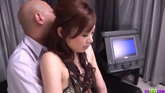 Keito Miyazawa loves law enforcement which work full-time cock in her fuzzy cherry