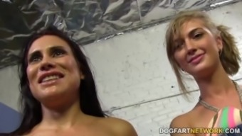 sheila marie & alana down pours collect anus fucking