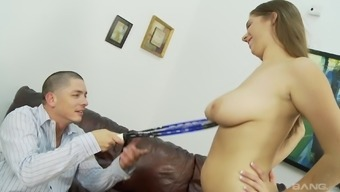 Stunning Alex Opportunity ultimately actually reaches play with a delicious dick