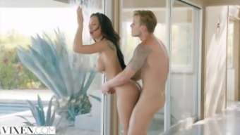 VIXEN Sizzling and Restricted Latina Chop on Man
