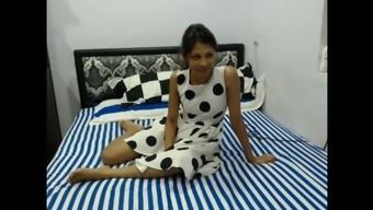 Perverted Fine indian lover along with two all men