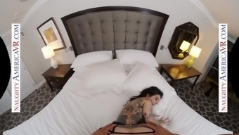 naughty america - joanna angel is all yours to quickie